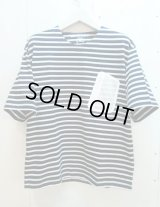 ★SALE 20%OFF★MR.EVERYDAY'S(ミスターエブリデイズ)by KIIT(キート)BIG BORDER T-SHIRTS MR.E-T005(NVY)