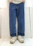 画像6: KIIT(キート)10 OZ DENIM LOOSE STRAIGHT PANTS KIC-P88-016 (BIO)