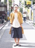 画像4: KIIT(キート) C / SI NEP YARN V-NECK KNIT VEST KIC-K98-014 (NAT)