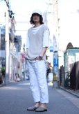 画像5: children of the discordance(チルドレンオブザディスコーダンス) OLD PATCH DENIM PANTS COTDPT-001(WHT) (5)