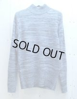 ★SALE30%OFF★NuGgETS(ナゲッツ) HIGH NECK KNIT NUG-T001-15AW (BLU)