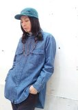 画像4: KIIT(キート) 6OZ DENIM BIG SHIRTS KIA-B95-007