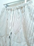 画像2: ★SALE 30%OFF★KIIT(キート) C/L STRIPE BIG SHORTS KIA-P92-301(WHT.ST)