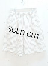 ★SALE 30%OFF★KIIT(キート) C/L STRIPE BIG SHORTS KIA-P92-301(WHT.ST)