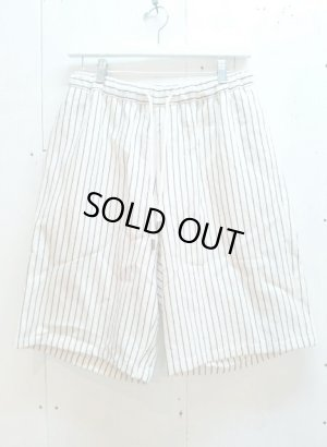 画像1: ★SALE 30%OFF★KIIT(キート) C/L STRIPE BIG SHORTS KIA-P92-301(WHT.ST)