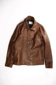 画像3: Varde77(バルデ77) DAMAGE HORSE LEATHER AGING JACKET NO.9016AW-CM-LJ01(BRN) (3)