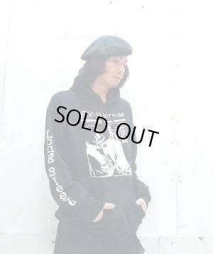 "画像5: NuGgETS(ナゲッツ) NuGgETEE(ナゲッティ)""EX YOUTH"" HOODED PARKA NUGTEE-P02-16AW (BLK)"