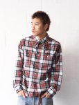画像10: NuGgETS(ナゲッツ) WORK SHIRT NUG-010-16AW(RED)