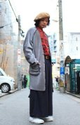 画像9: comet.(コメット) REVERSIBLE COLLARLESS COAT