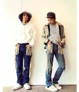 画像5: ★SALE 50%OFF★children of the discordance(チルドレンオブザディスコーダンス) FRINGE DENIM PANTS COTDPT-008(BLUE.A) (5)