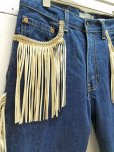 画像3: ★SALE 50%OFF★children of the discordance(チルドレンオブザディスコーダンス) FRINGE DENIM PANTS COTDPT-008(BLUE.A) (3)