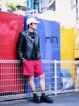 画像5: REBEL ELEMENTS別注 KIIT(キート)  BIG WAFFULE SHORT PANTS KIC-P83-021(RED)