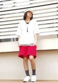 画像7: REBEL ELEMENTS別注 KIIT(キート)  BIG WAFFULE SHORT PANTS KIC-P83-021(RED)