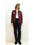 画像10: Varde77(バルデ77) VIETNAM  JACKET 2017 9017AW-SP-JC01(WINE) (10)