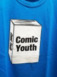 "画像2: NuGgETS(ナゲッツ) NuGgETEE(ナゲッティ)""COMIC YOUTH"" S/S-Tee NUGTEE-01B7(BLU) (2)"