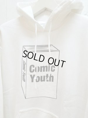 "画像2: NuGgETS(ナゲッツ) NuGgETEE(ナゲッティ)""COMIC YOUTH"" HOODED PARKA NUGTEEP01B7(WHT)"