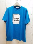 "画像1: NuGgETS(ナゲッツ) NuGgETEE(ナゲッティ)""COMIC YOUTH"" S/S-Tee NUGTEE-01B7(BLU) (1)"