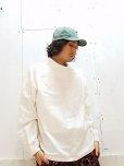 画像5: KIIT(キート)C/SI GROSGRAIN HI NECK P/O SHIRTS KID-B93-005(WHT)