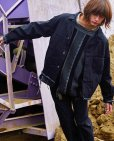 画像10: KIIT(キート)11.5oz DENIM LOOSE BLOUSON KID-Y93-009 (BLK)
