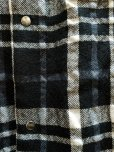 画像2: KIIT(キート)WOOL FLANNEL CHECK OPEN COLLAR SHIRTS KID-B92-104 (2)