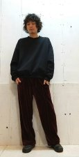 画像4: KIIT(キート) N/C PILE CREW NECK TOPS KID-T96-600(BLK)