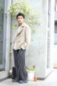 画像8: KIIT(キート) W FACE MELTON OVERSIZED SHORT P-COAT (BGE X BRN)