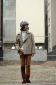画像11: KIIT(キート) W FACE MELTON OVERSIZED SHORT P-COAT (BGE X BRN)