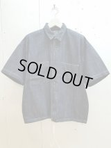 ★SALE30%OFF★KIIT(キート) 8OZ DENIM S/SLEEVE SHIRTS KIE-B94-008(ONE WASH)