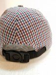 画像3: ★SALE40%OFF★KIIT(キート) × MASACA HAT(マサカハット)COLLABOLATION COTTON / LINEN /SILK GUNCLUB CHECK CAP KIE-A90-100
