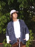 画像8: ★SALE40%OFF★KIIT(キート) × MASACA HAT(マサカハット)COLLABOLATION COTTON / LINEN /SILK GUNCLUB CHECK CAP KIE-A90-100