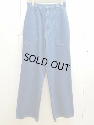 画像1: KIIT(キート)11.5OZ DENIM EASY WIDE PANTS KIF-P95-003(IND)