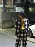 画像6: KIIT(キート) WOOL FLANNEL BLOCK CHECK SHIRTS JKT KIF-P99-004 (IVO)