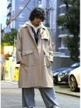 画像7: KIIT(キート)  C / P DOUBLE CLOTH TRENCH COAT KIF-J99-102 (7)