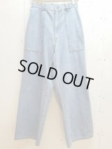 KIIT(キート)11.5OZ DENIM EASY WIDE PANTS KIF-P95-003(IND BLEACH)