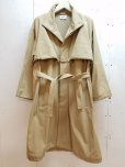 画像1: KIIT(キート) COTTON GABARDINE STAND COLLAR COAT KIG-C99-001 (1)