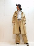 画像6: KIIT(キート) COTTON GABARDINE STAND COLLAR COAT KIG-C99-001 (6)