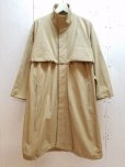 画像2: KIIT(キート) COTTON GABARDINE STAND COLLAR COAT KIG-C99-001 (2)