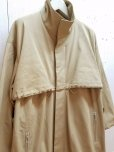 画像3: KIIT(キート) COTTON GABARDINE STAND COLLAR COAT KIG-C99-001 (3)