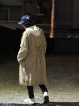 画像10: KIIT(キート) COTTON GABARDINE STAND COLLAR COAT KIG-C99-001