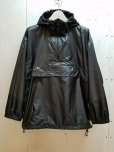 画像1: KIIT(キート)  WATER PROOF NYLON TAFFETA ANORAK KIG-Y96-603(BLK) (1)