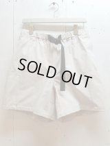 ★SALE30%OFF★KIIT(キート) PL/NY RUBBER KANOKO EASY SHORTS KIG-P95-500(L.GRY)