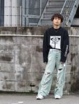 画像7: SUGARHILL(シュガーヒル)CRUSHED CONSTRUCTED DENIM PANTS 19AWPT03