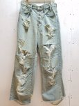 画像1: SUGARHILL(シュガーヒル)CRUSHED CONSTRUCTED DENIM PANTS 19AWPT03 (1)