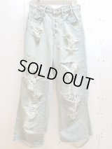 SUGARHILL(シュガーヒル)CRUSHED CONSTRUCTED DENIM PANTS 19AWPT03