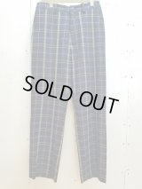 KIIT(キート) PURE WOOL CHECK EASY TROUSERS KIH-P93-101