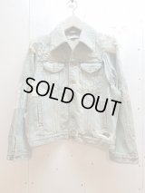 SUGARHILL(シュガーヒル)CRUSHED DENIM JACKET 19AWJK03