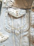 画像5: SUGARHILL(シュガーヒル)CRUSHED DENIM JACKET 19AWJK03