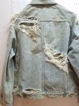 画像6: SUGARHILL(シュガーヒル)CRUSHED DENIM JACKET 19AWJK03
