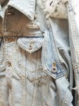画像3: SUGARHILL(シュガーヒル)CRUSHED DENIM JACKET 19AWJK03