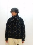 画像4: ★SALE30%OFF★KIIT(キート) ORIGINAL PATTERN BOA FLEECE MUFFLER(POLARTEC POWER FILL)KIH-A98-800(BLK) (4)